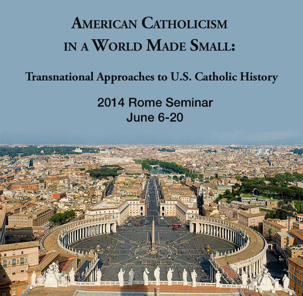 Rome Seminar 2014 - Global Catholicisms