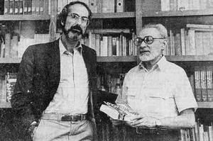 Philip Roth and Primo Levi in 1986