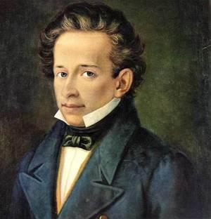 Giacomo Leopardi Bust